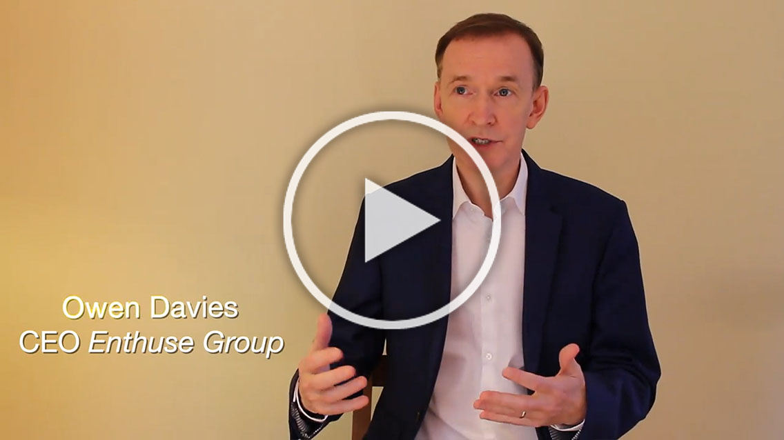 Interview with Owen Davies, CEO and Co-Founder of Enthuse Group